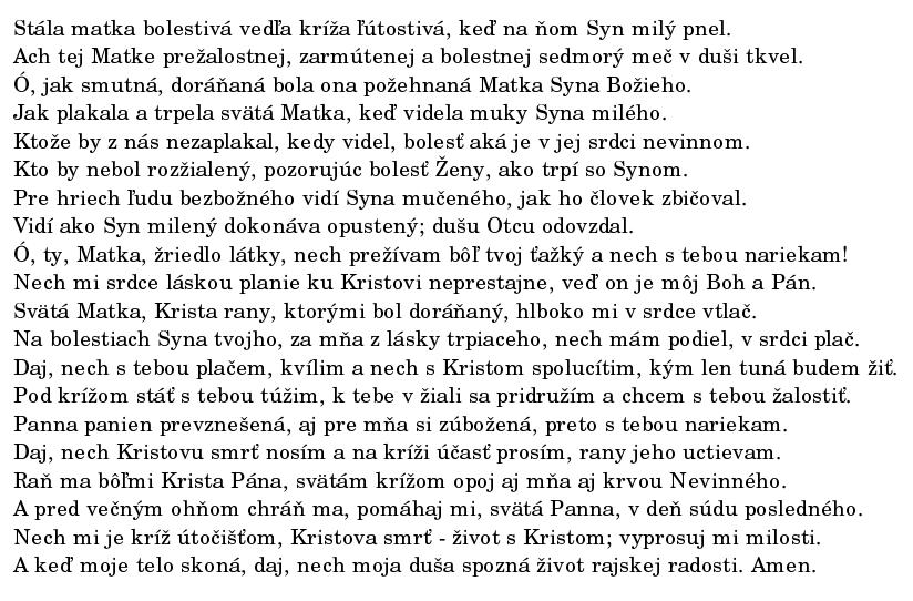 stabat-sk